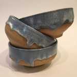 Bell_01 - Landscape bowls with glaze drips