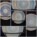 "Baking ware - 9"" deep pie plates"