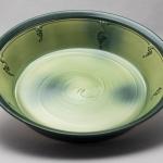 Bowl w grape design