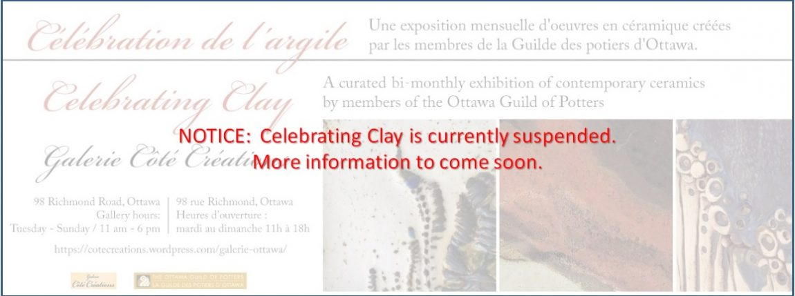 A celebration and sale of outstanding handcrafted pottery produced by Ottawa potters