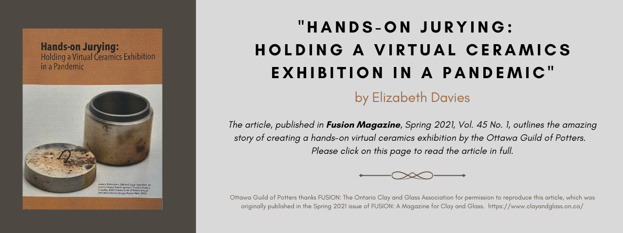 Article about the Virtual Exhibition 2020